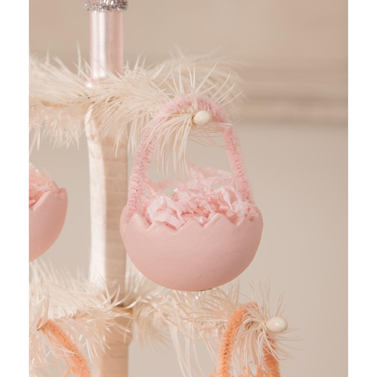 Cracked Egg Pink Ornament