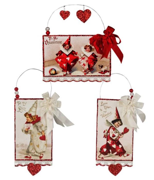 Valentine Postcard Ornament S3