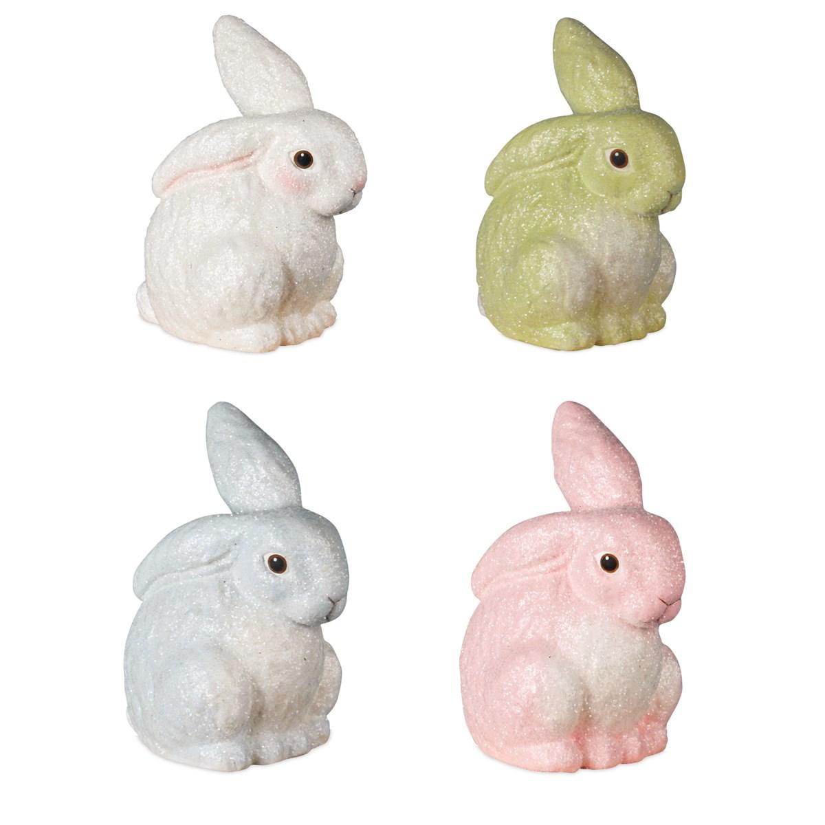 Glittered Egg Dye Bunny 4A