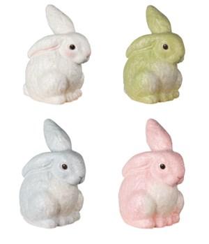 Glittered Egg Dye Bunny 4/A