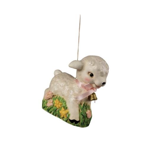 Retro Lamb Ornament