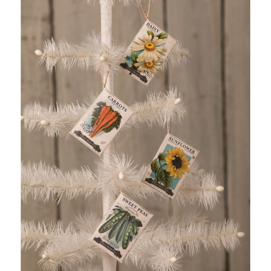 Seed Packet Ornament 4/A