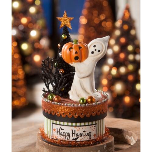 Happy Haunting Ghost On Box