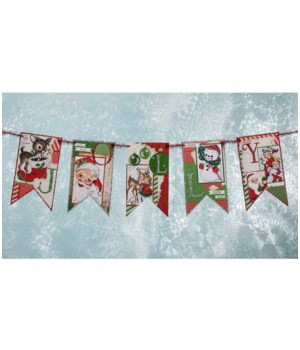 Jolly Retro Garland