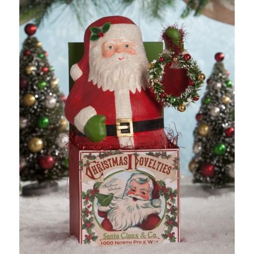 Retro Santa in the Box