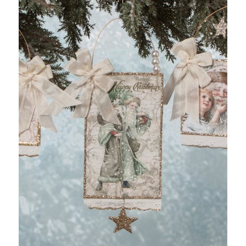 Elegant Postcard Ornament 4A