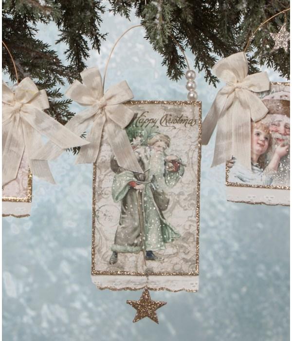 Elegant Postcard Ornament 4A