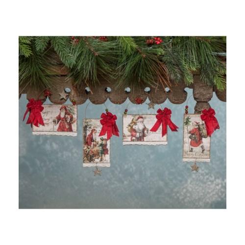 Traditional Postcard Ornament 4/A
