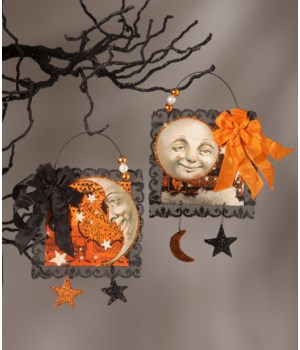 Magic Moonlight Postcard Ornament 2/A