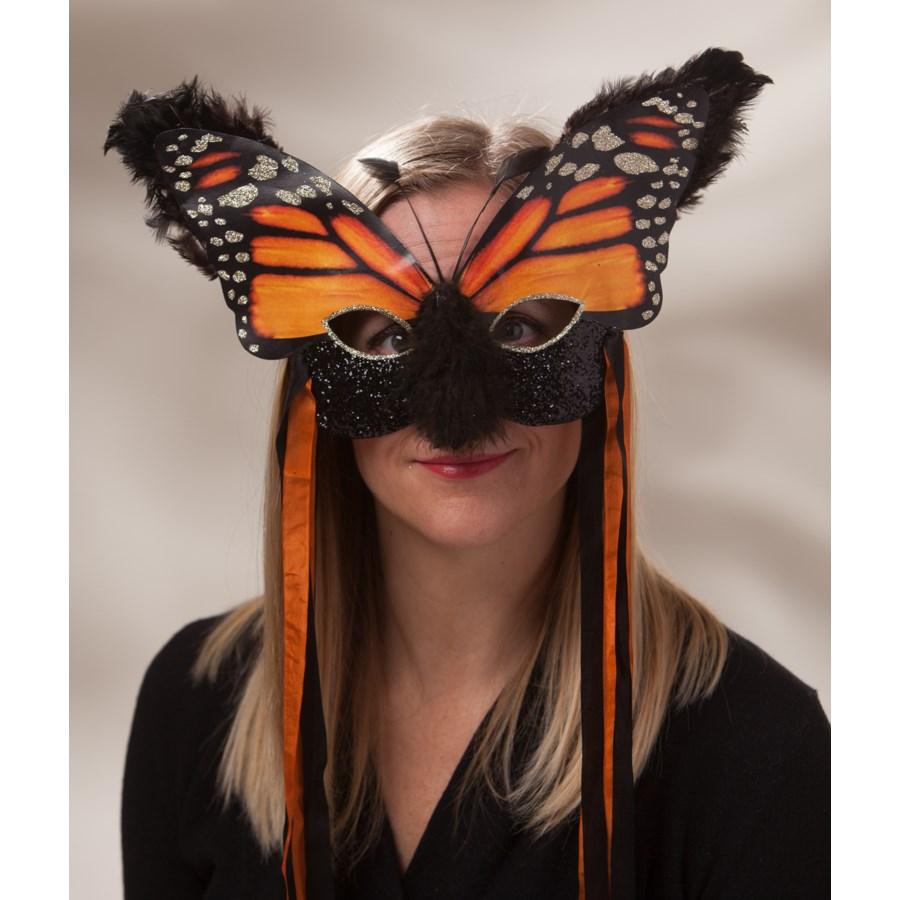 Monarch Masquerade Mask