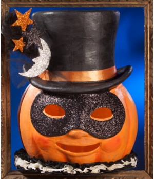 Magic Halloween Jack O'lantern Large Paper Mache