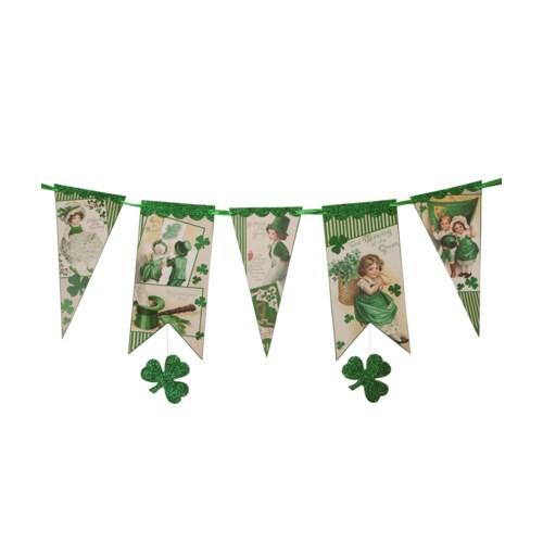 St. Patrick's Pennant Garland