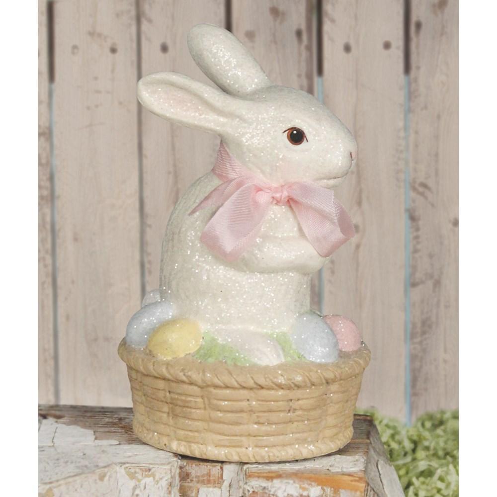 Bunny on Egg Basket