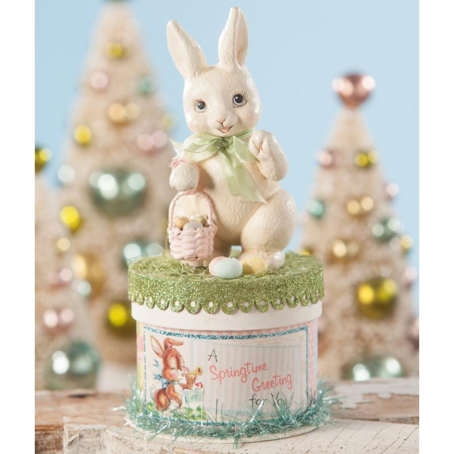 Retro Bunny on Box