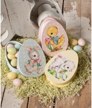 Retro Easter Mini Boxes 3/A