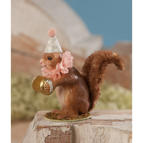 Party Squirrel With Cymbals