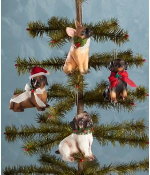 Furry Friends Ornament 4/A