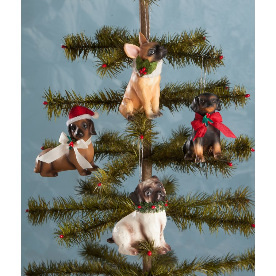 Furry Friends Ornament 4/A