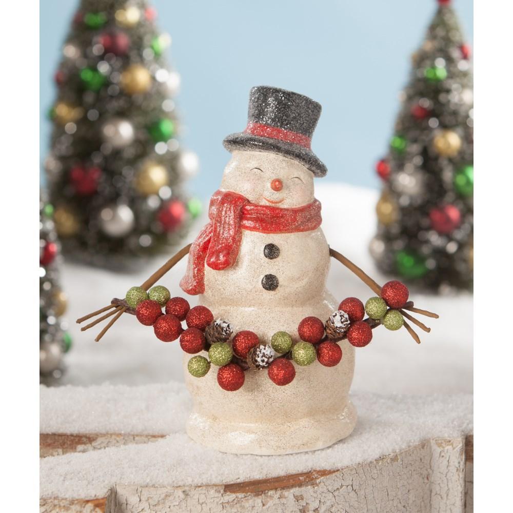 Traditional Smiley Snowman Medium