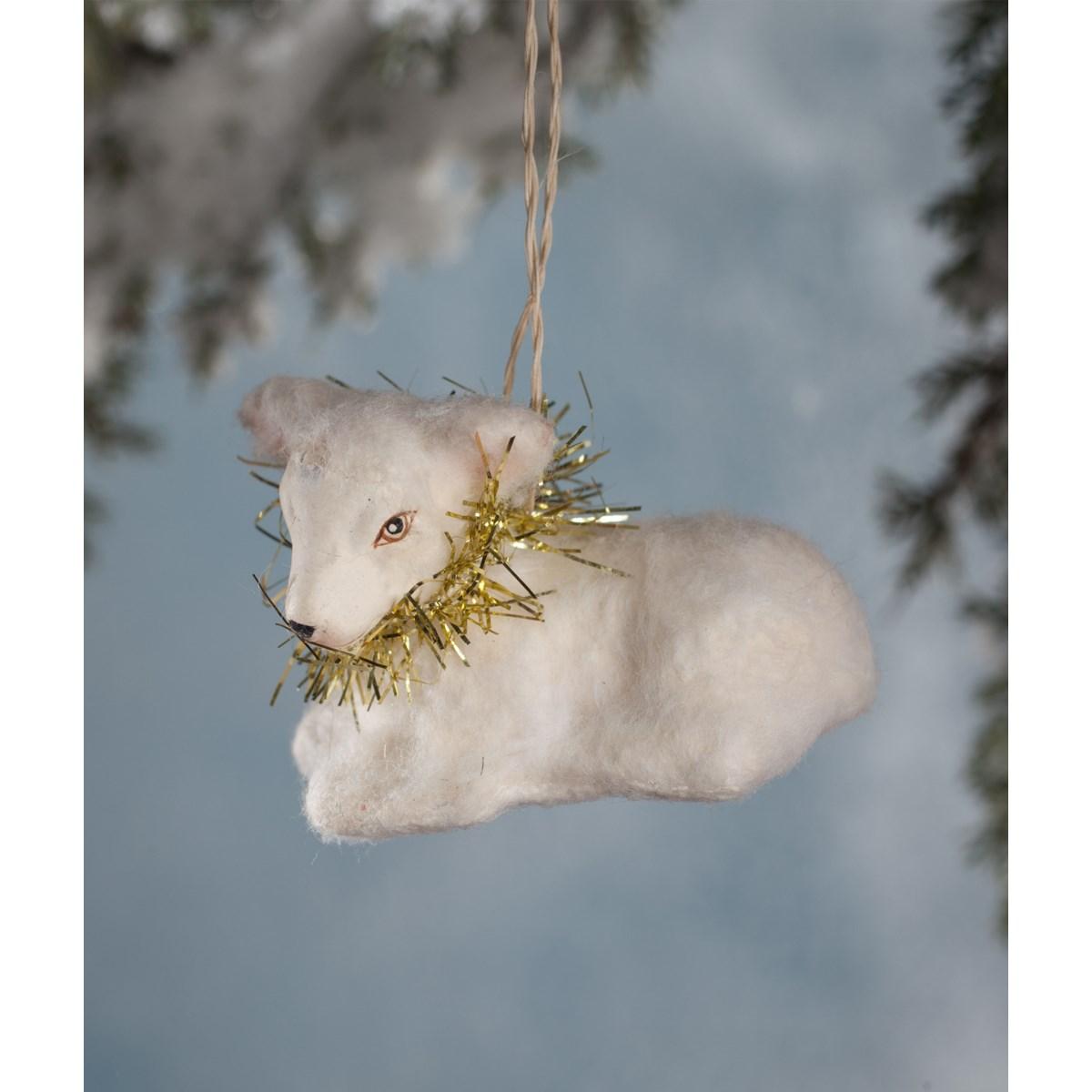 Peaceful Lamb Ornament