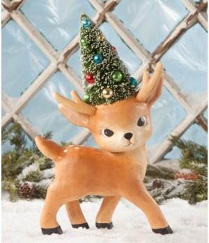 Standing Merry & Bright Reindeer Large