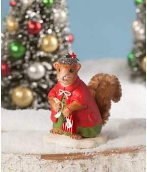 Christmas Shopping Squirrel