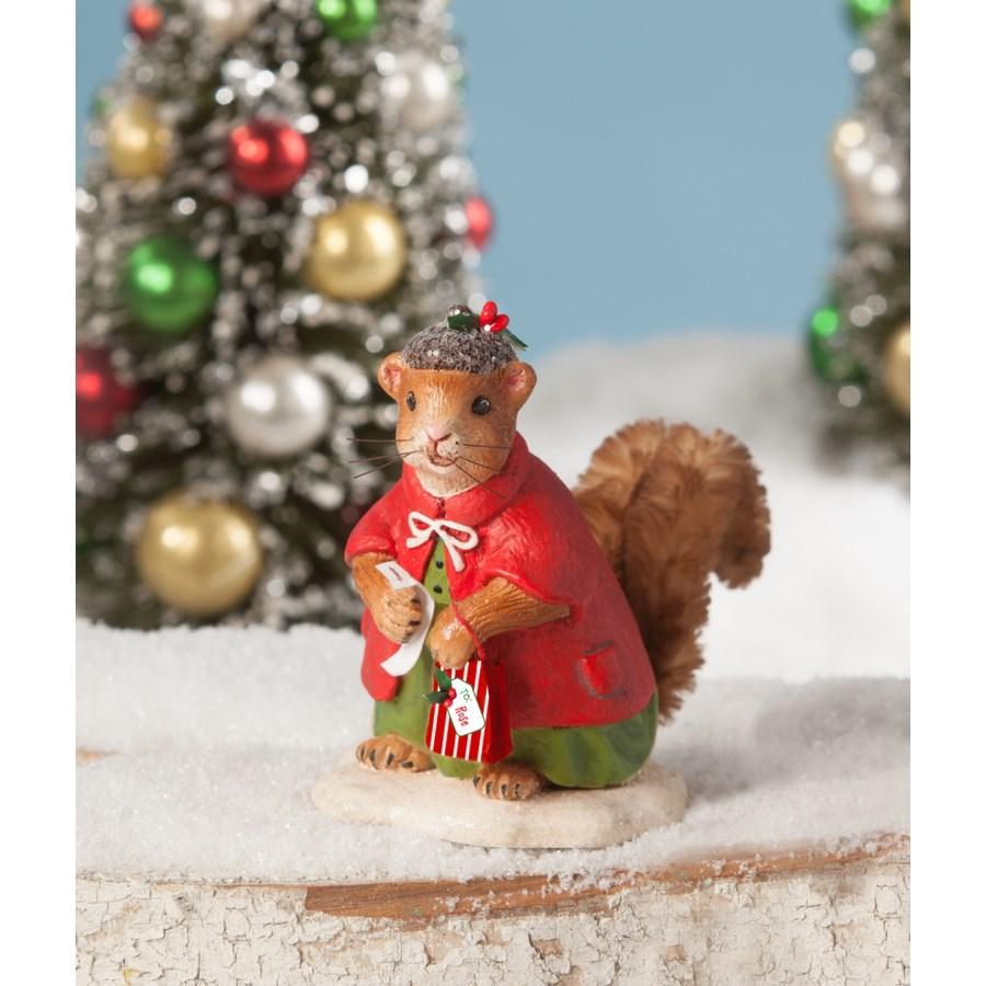 Christmas Shopping Squirrel