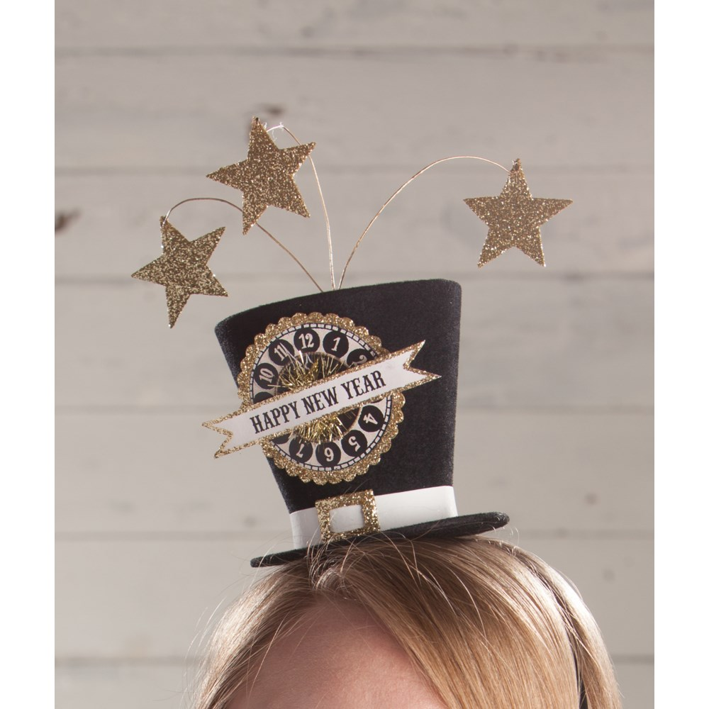 NEW YEAR'S EVE TOP HAT