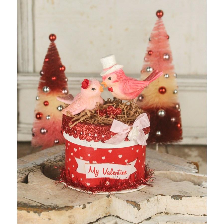 My Valentine Love Bird's Box
