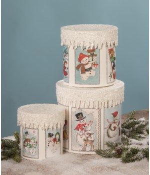 Frosty Snowman Boxes S3