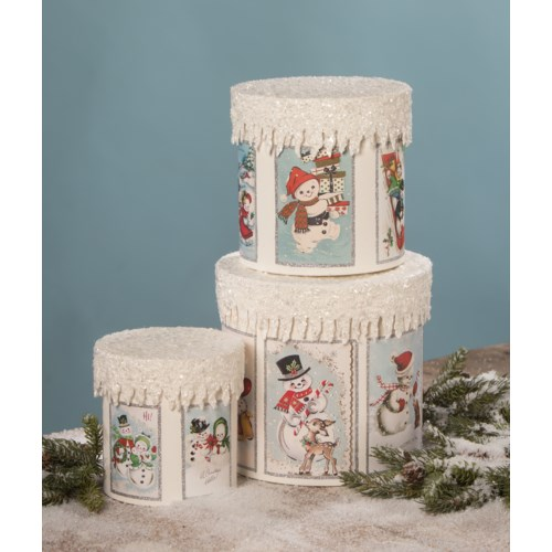 Frosty Snowman Boxes S3