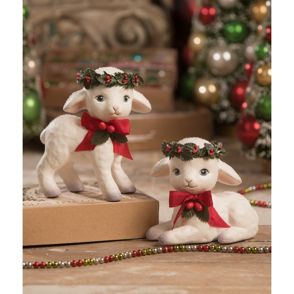 Sweet Christmas Lamb 2A