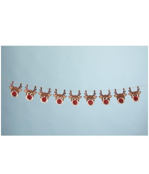 Reindeer Games Garland