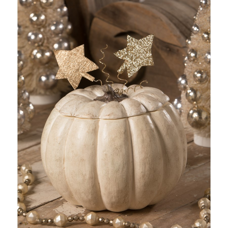 Romantic Pumpkin With Lid