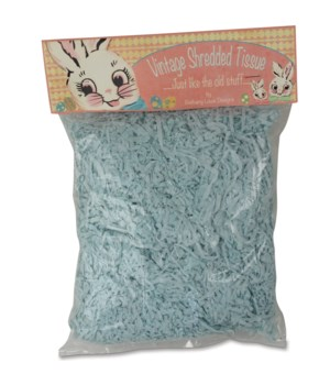 Shredded Tissue Paper Aqua