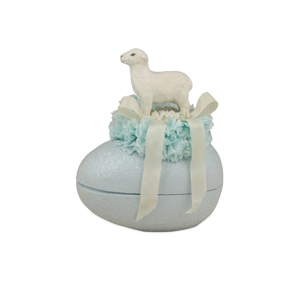 Lamb on Egg Container