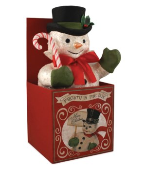 Frosty in Box