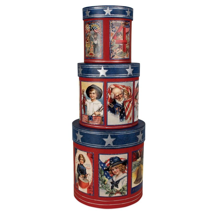 Americana Nesting Boxes S3