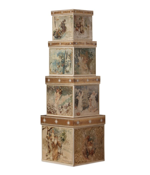 A Peaceful Christmas Nesting Boxes S4