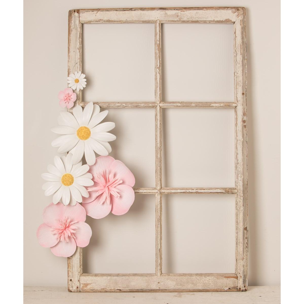"Paper Flower Pink 8"""