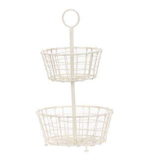 FRITZ TIERED METAL BASKET