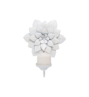 FLORAL WALL PILLAR HOLDER