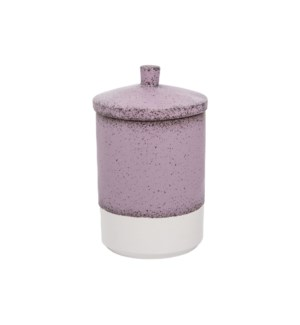 LAVENDER KITCHEN CANISTER