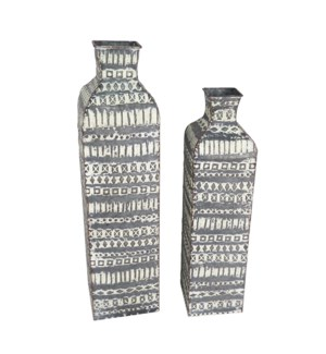 BRAXTON VASES, SET OF 2