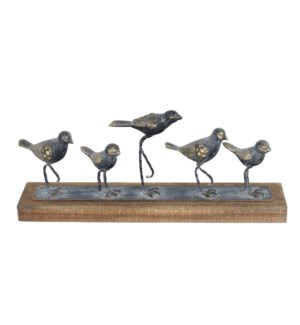 WALKING BIRDS TABLE ART