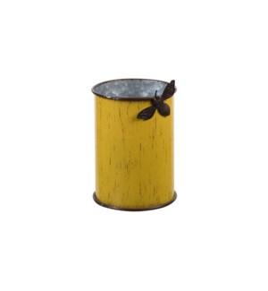METAL BEE PLANTER