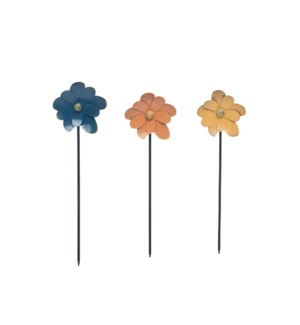 FLOWER STAKE, 3 COLORS