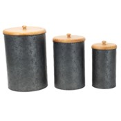 LOGAN CANISTERS, SET OF 3