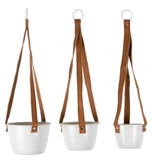 AXL HANGING PLANTERS, SET OF 3