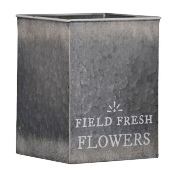 FIELD FRESH FLOWERS TIN